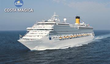 Francie, Itálie, Španělsko z Marseille na lodi Costa Magica