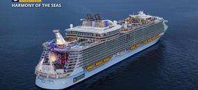 USA, Svatý Martin, Bahamy na lodi Harmony of the Seas