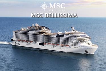 Itálie, Španělsko, Francie z Janova na lodi MSC Bellissima