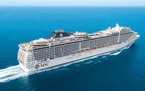 Francie, Itálie, Španělsko z Marseille na lodi MSC Divina