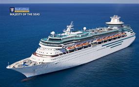 USA, Bahamy z New Orleans na lodi Majesty of the Seas