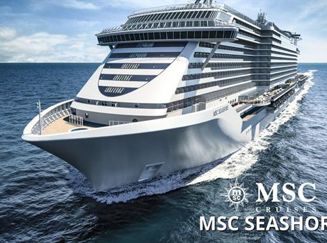 Itálie, Malta, Španělsko, Francie z Neapole na lodi MSC Seashore
