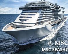 Španělsko, Francie, Itálie, Malta z Barcelony na lodi MSC Seashore *****