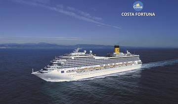Itálie, Francie, Španělsko ze Savony na lodi Costa Fortuna