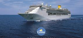 Řecko, Itálie z Korfu na lodi Costa Victoria