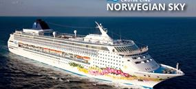 USA, Bahamy z Miami na lodi Norwegian Sky