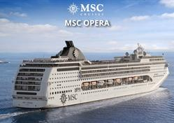 Španělsko z Barcelony na lodi MSC Opera
