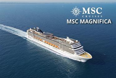 Velká Británie, Korunní závislé území Velké Británie ze Southamptonu na lodi MSC Magnifica