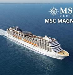 Velká Británie, Německo, Nizozemsko, Belgie, Francie ze Southamptonu na lodi MSC Magnifica