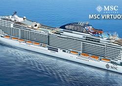 Francie, Itálie, Španělsko z Marseille na lodi MSC Virtuosa