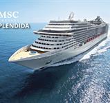 Itálie z Janova na lodi MSC Splendida ****