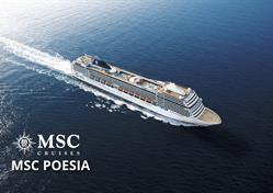 Francie, Španělsko z Marseille na lodi MSC Poesia