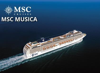 Řecko, Černá Hora, Itálie z Pireu na lodi MSC Musica
