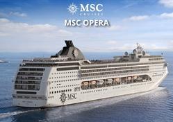 Itálie, Španělsko z Janova na lodi MSC Opera