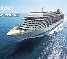 Francie, Itálie z Marseille na lodi MSC Splendida