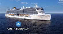 Francie, Španělsko, Itálie z Marseille na lodi Costa Smeralda