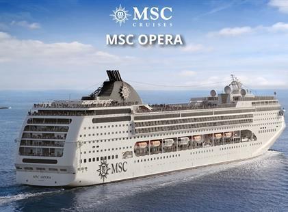 Jihoafrická republika z Kapského Města na lodi MSC Opera
