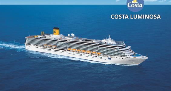 Francie, Itálie, Řecko z Marseille na lodi Costa Luminosa