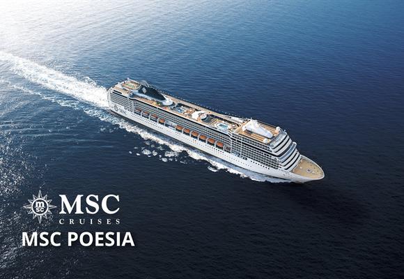 Německo, Norsko, Dánsko z Warnemünde na lodi MSC Poesia ****