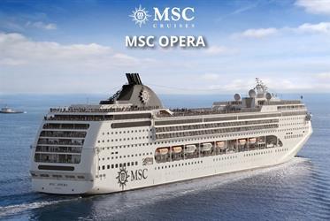 Itálie, Španělsko z Civitavecchia na lodi MSC Opera