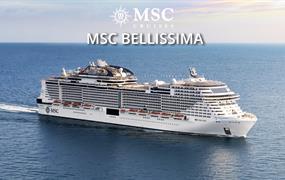 Katar, Spojené arabské emiráty, Omán z Dohy na lodi MSC Bellissima