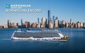 USA - Východní pobřeží, Zámořské území Velké Británie z New Yorku na lodi Norwegian Encore