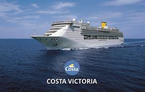 Španělsko, Itálie, Francie z Palma de Mallorca na lodi Costa Victoria