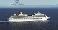 Španělsko, Antigua a Barbuda, Barbados, Martinik, Guadeloupe z Barcelony na lodi Costa Favolosa