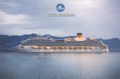Německo, Dánsko, Norsko, Francie, Španělsko, Itálie z Kielu na lodi Costa Diadema ****