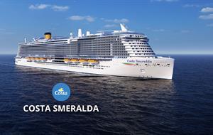 Španělsko, Itálie, Francie z Palma de Mallorca na lodi Costa Smeralda