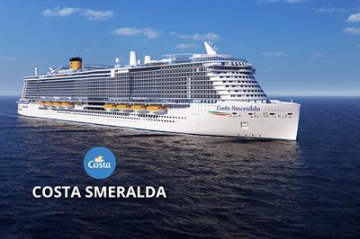 Itálie, Francie, Řecko, Kypr, Izrael, Omán, Katar, Spojené arabské emiráty z Civitavecchia na lodi Costa Smeralda ****