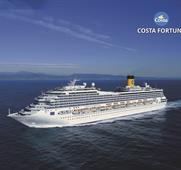 Španělsko, Francie, Itálie z Barcelony na lodi Costa Fortuna