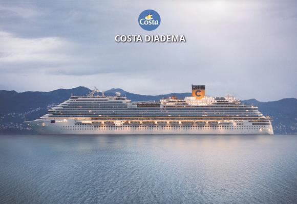 Španělsko, Francie, Itálie, Řecko, Turecko z Barcelony na lodi Costa Diadema ****