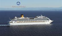 Itálie, Španělsko, Francie ze Savony na lodi Costa Favolosa