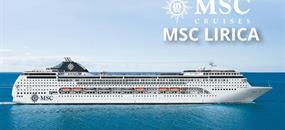 Řecko, Izrael z Pireu na lodi MSC Lirica