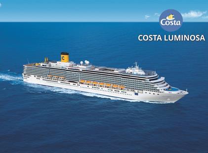 Uruguay, Argentina, Brazílie z Montevidea na lodi Costa Luminosa