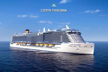 Francie, Itálie, Španělsko z Marseille na lodi Costa Toscana