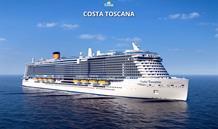 Itálie, Francie, Španělsko ze Savony na lodi Costa Toscana