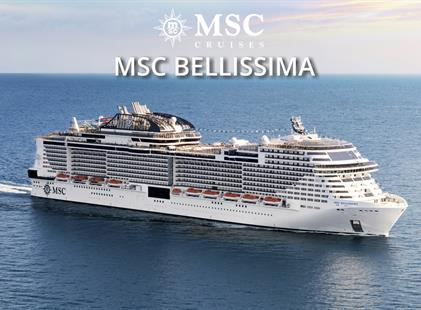 Japonsko, Čína z Yokohami na lodi MSC Bellissima