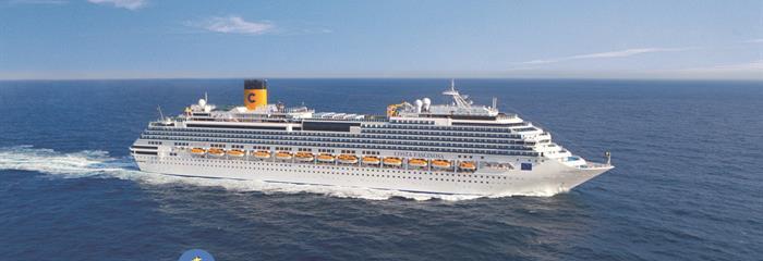 Španělsko, Itálie, Francie, Portugalsko z Barcelony na lodi Costa Fascinosa
