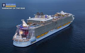 USA, Bahamy, Svatý Martin z Port Canaveralu na lodi Harmony of the Seas