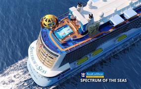 Čína, Japonsko z Hong Kongu na lodi Spectrum of the Seas