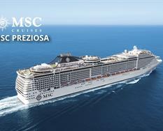 Francie, Itálie z Marseille na lodi MSC Preziosa ****