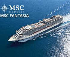 Spojené arabské emiráty, Bahrajn, Katar z Abu Dhabi na lodi MSC Fantasia ****