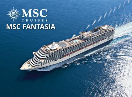 Spojené arabské emiráty, Bahrajn, Katar z Dubaje na lodi MSC Fantasia