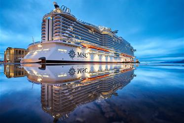 USA, Bahamy z Port Canaveralu na lodi MSC Seaside