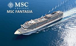 Francie, Itálie z Marseille na lodi MSC Fantasia
