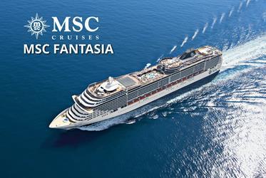 Itálie, Francie, Španělsko, Tunisko z Palerma na lodi MSC Fantasia