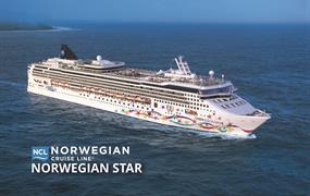 Velká Británie, Belgie, Francie, Španělsko, Portugalsko, Korunní závislé území Velké Británie ze Southamptonu na lodi Norwegian Star
