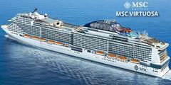 Španělsko, Portugalsko, Velká Británie, Německo, Dánsko z Barcelony na lodi MSC Virtuosa